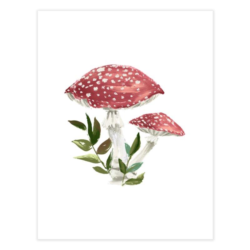 Mushrooms Home Fine Art Print by NyxThat's Artist Shop