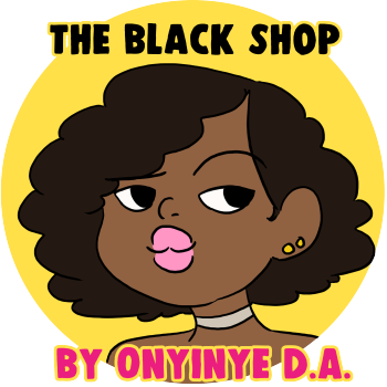 Onyinye DA - The Black Shop Logo
