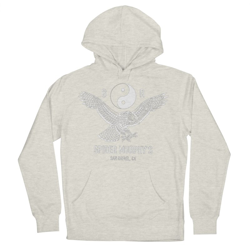 BR sm yin yang Men's French Terry Pullover Hoody by ODP