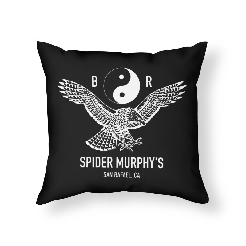 BR sm yin yang Home Throw Pillow by ODP