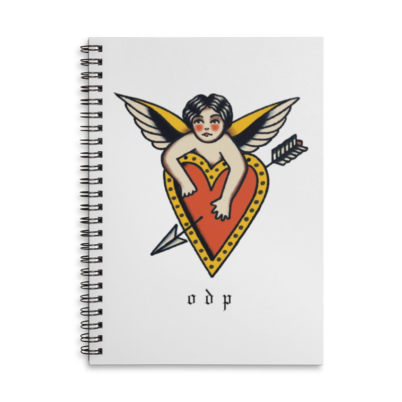 CUPID Accessories Lined Spiral Notebook by ODP