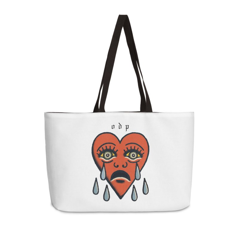 CRYING HEART Accessories Weekender Bag Bag by ODP
