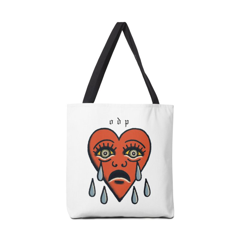 CRYING HEART Accessories Tote Bag Bag by ODP