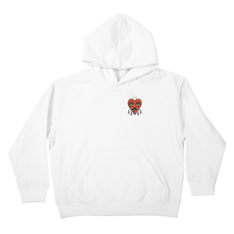 CRYING HEART Kids Pullover Hoody by ODP