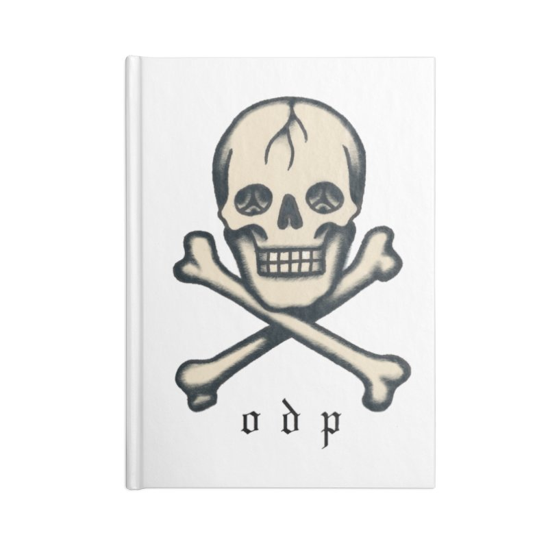 CROSSBONES Accessories Lined Journal Notebook by ODP