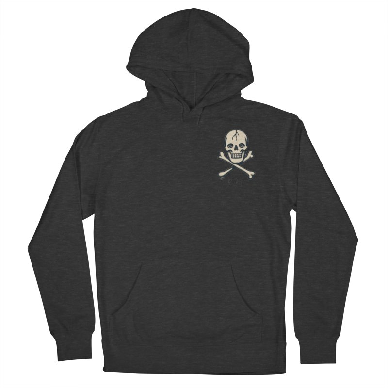 CROSSBONES Women's French Terry Pullover Hoody by ODP
