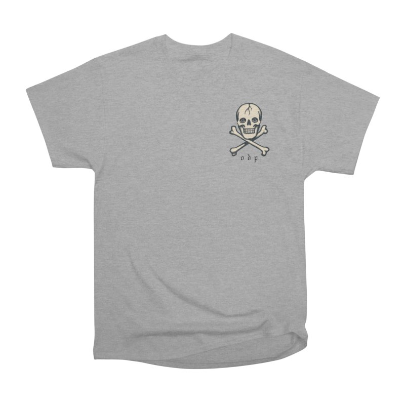 CROSSBONES Women's Heavyweight Unisex T-Shirt by ODP