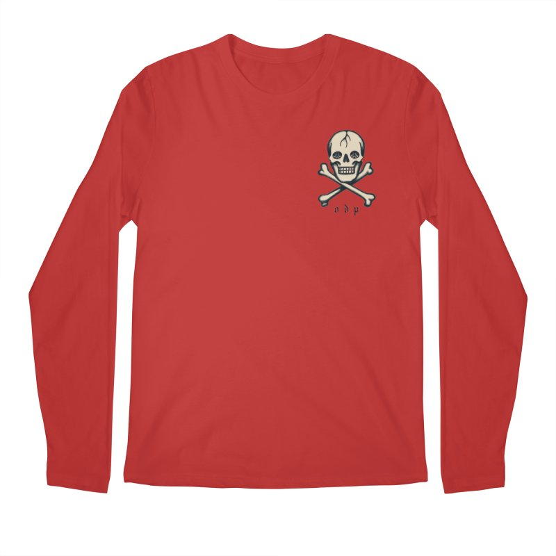 CROSSBONES Men's Regular Longsleeve T-Shirt by ODP