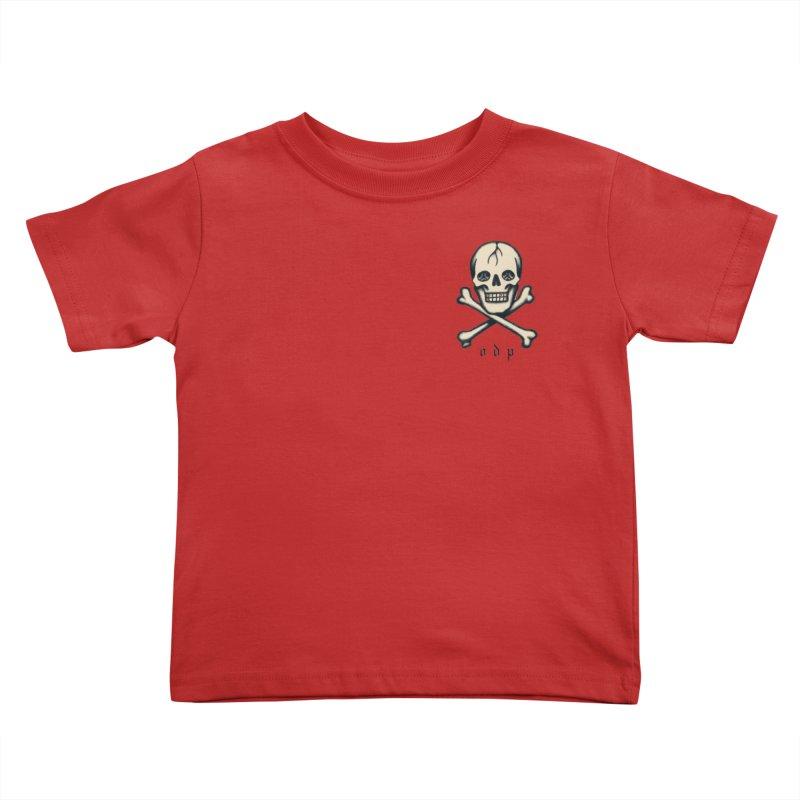 CROSSBONES Kids Toddler T-Shirt by ODP