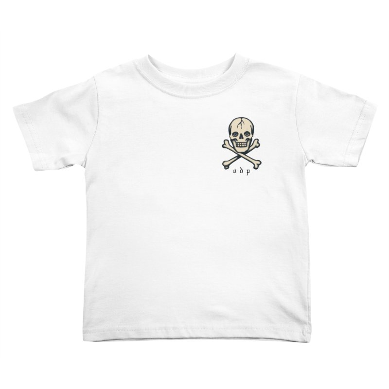 CROSSBONES Kids Toddler T-Shirt by ODP