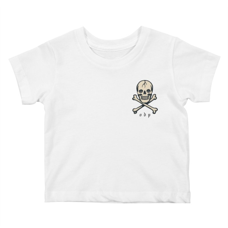 CROSSBONES Kids Baby T-Shirt by ODP