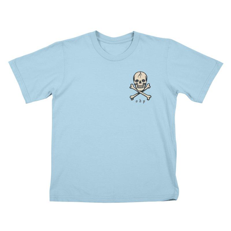 CROSSBONES Kids T-Shirt by ODP