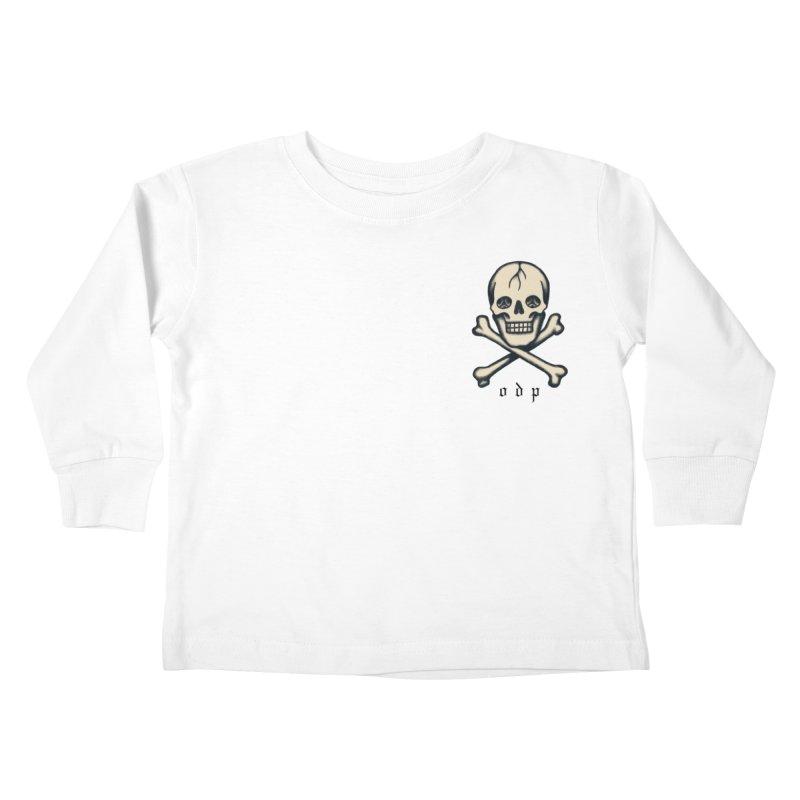 CROSSBONES Kids Toddler Longsleeve T-Shirt by ODP