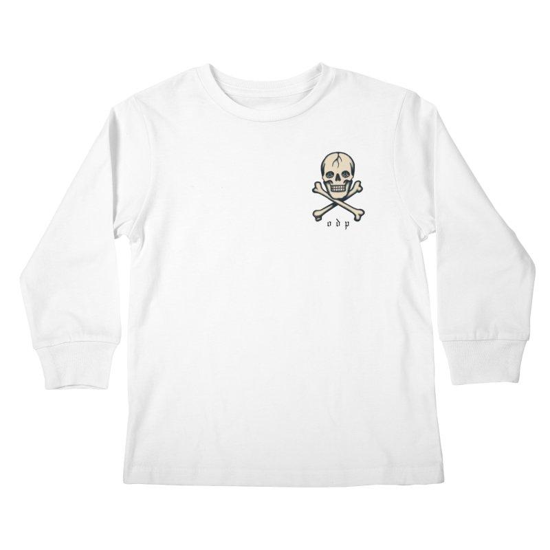 CROSSBONES Kids Longsleeve T-Shirt by ODP