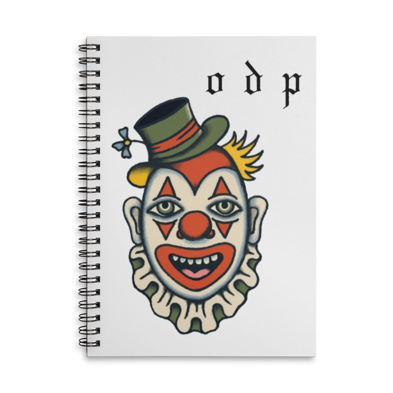 BUBBLES Accessories Lined Spiral Notebook by ODP