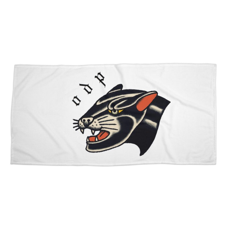 PANTHER Accessories Beach Towel by ODP