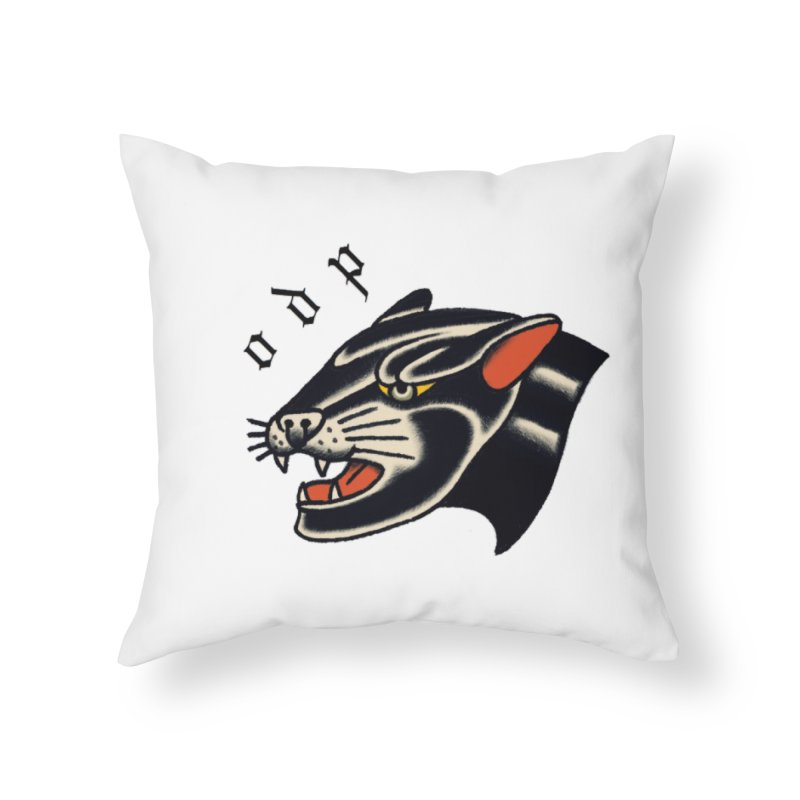 PANTHER Home Throw Pillow by ODP