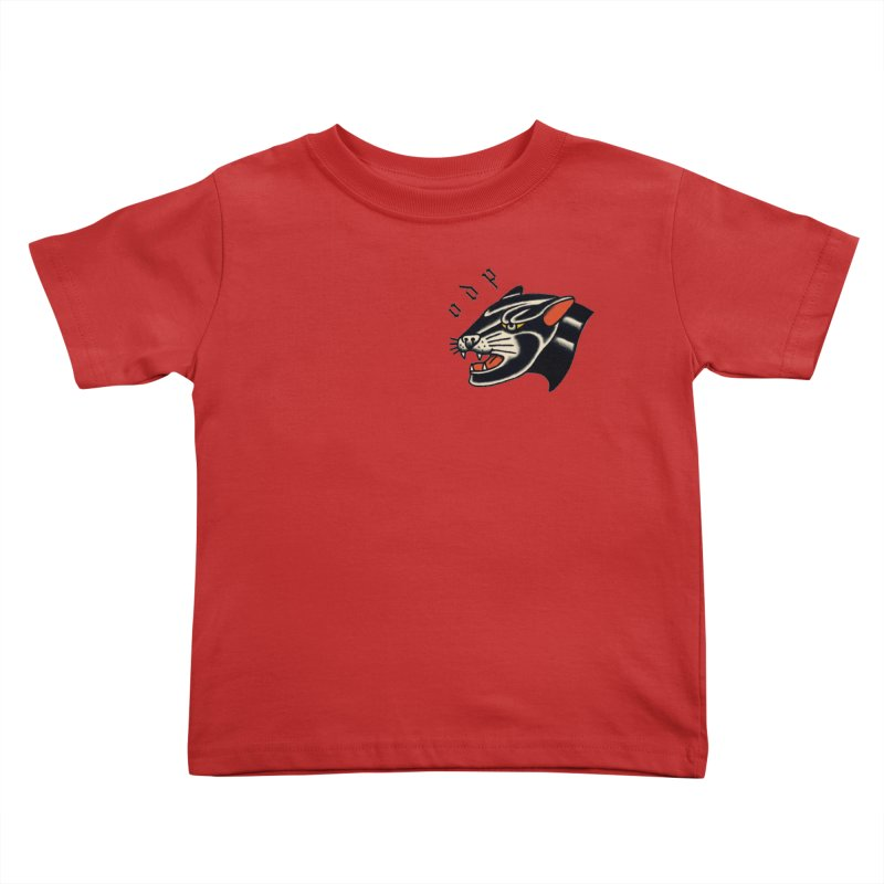 PANTHER Kids Toddler T-Shirt by ODP