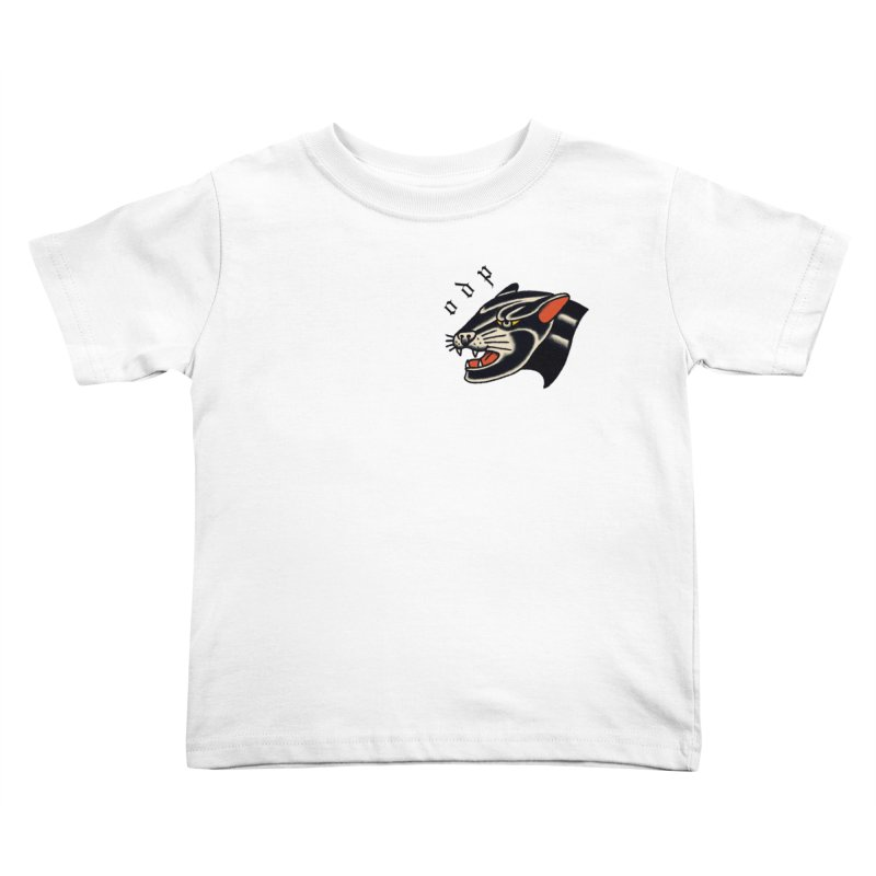 PANTHER Kids Toddler T-Shirt by ODP