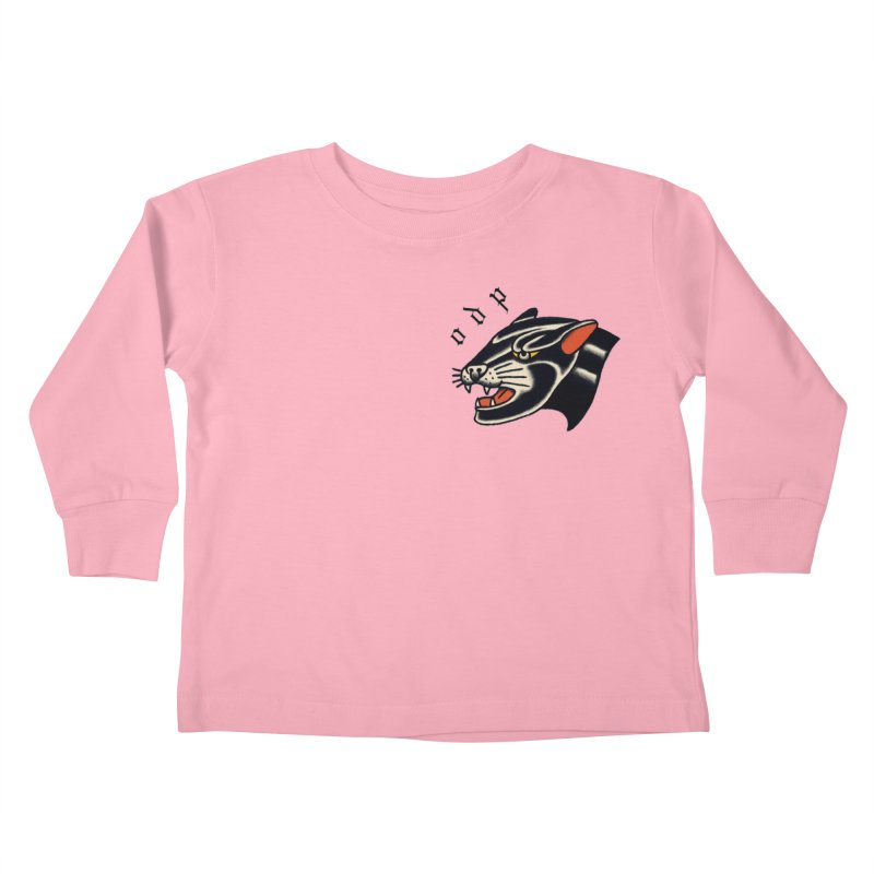PANTHER Kids Toddler Longsleeve T-Shirt by ODP