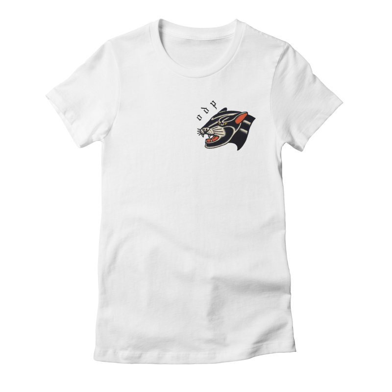 PANTHER Women's Fitted T-Shirt by ODP