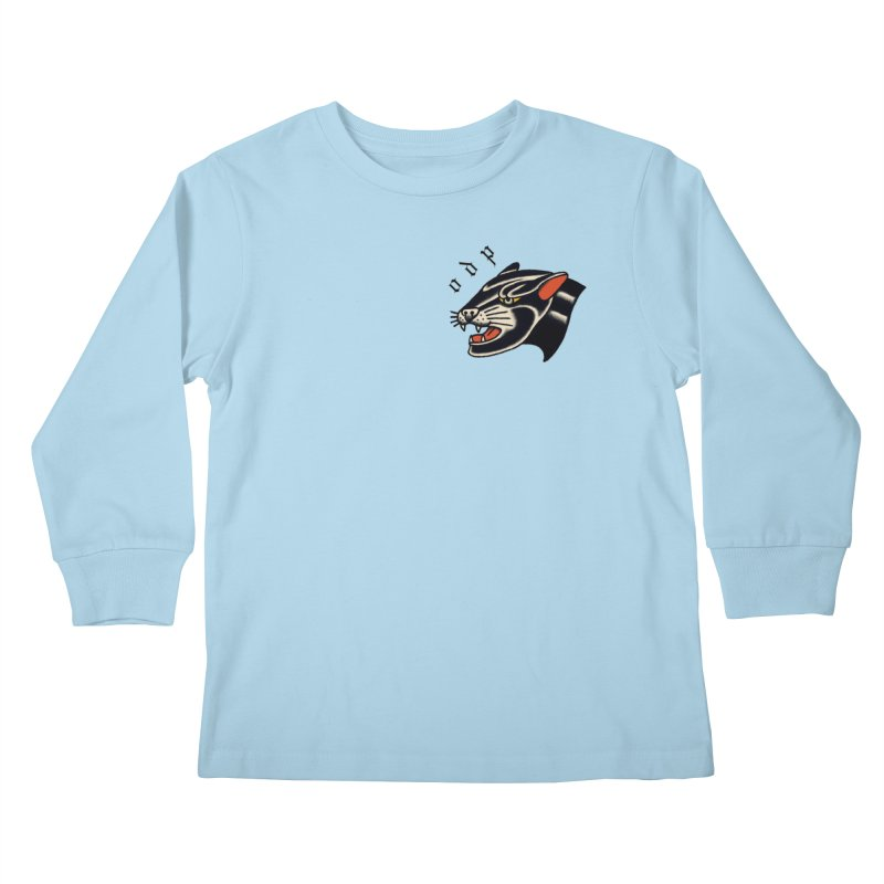 PANTHER Kids Longsleeve T-Shirt by ODP