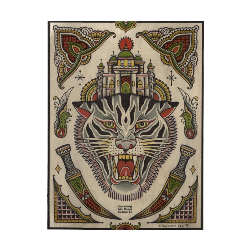 YOU TIGER NOW Home Fine Art Print by ODP