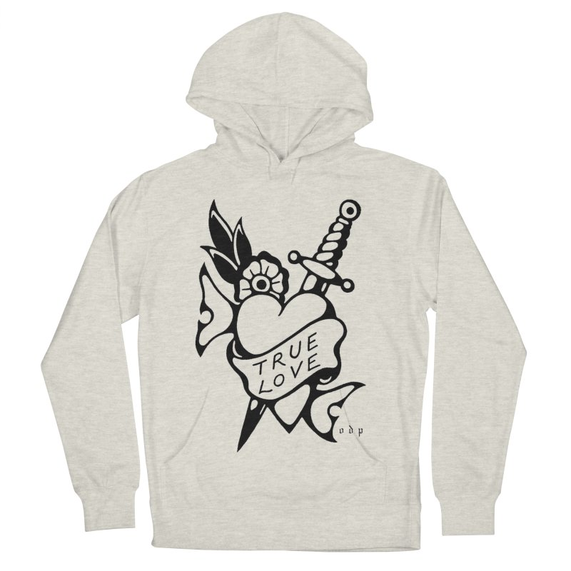 TRUE LOVE Men's French Terry Pullover Hoody by ODP
