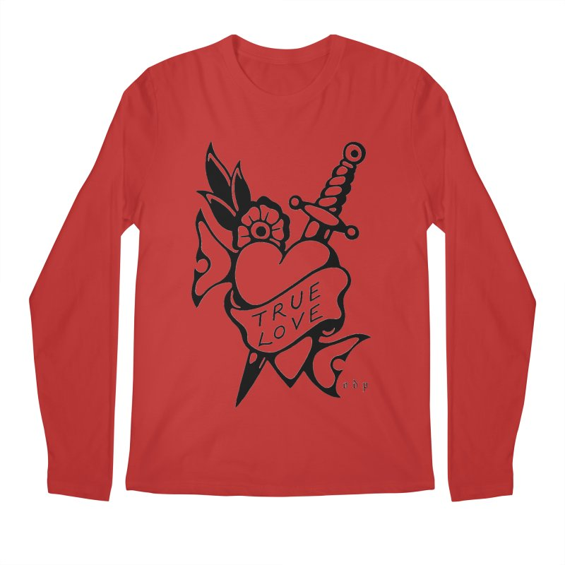 TRUE LOVE Men's Regular Longsleeve T-Shirt by ODP