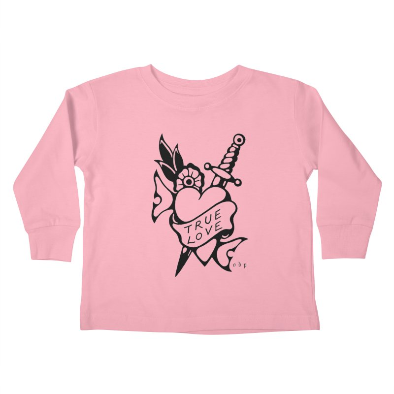 TRUE LOVE Kids Toddler Longsleeve T-Shirt by ODP