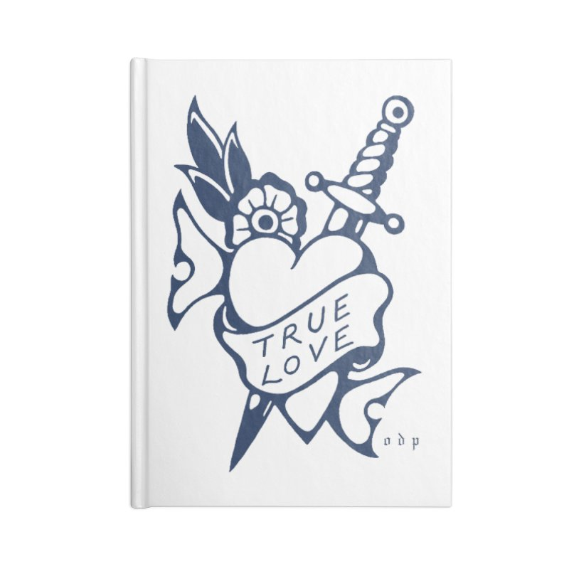 TRUE BLUE Accessories Blank Journal Notebook by ODP