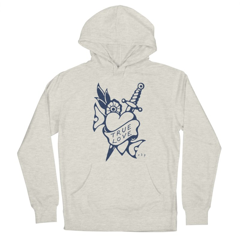 TRUE BLUE Women's French Terry Pullover Hoody by ODP
