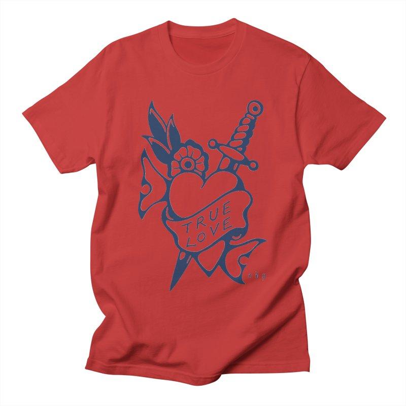TRUE BLUE Men's T-Shirt by ODP