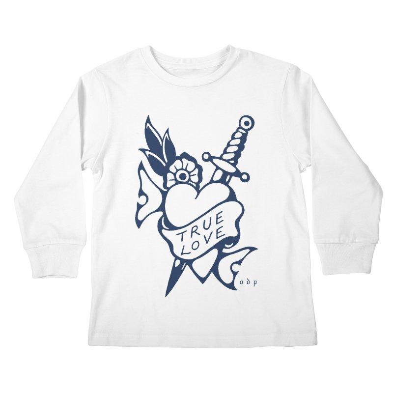 TRUE BLUE Kids Longsleeve T-Shirt by ODP