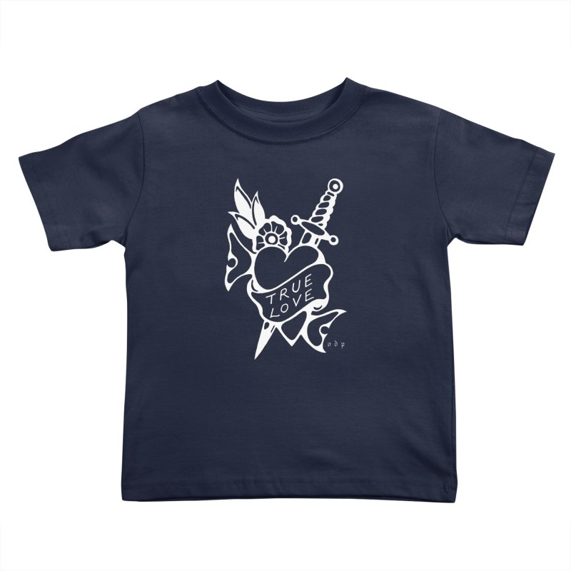 TRUE LOVE Kids Toddler T-Shirt by ODP