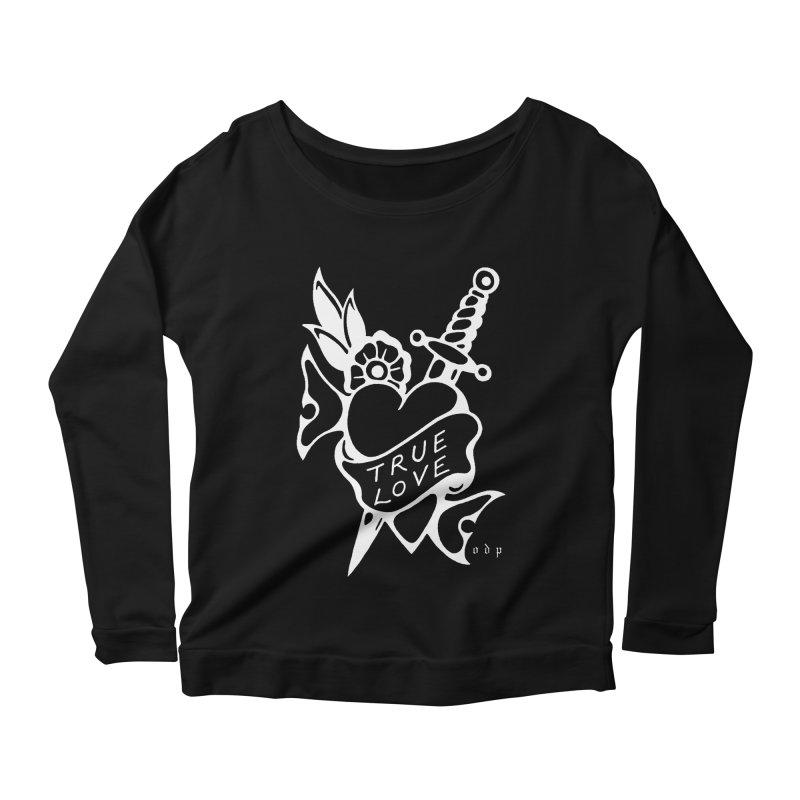 TRUE LOVE Women's Scoop Neck Longsleeve T-Shirt by ODP