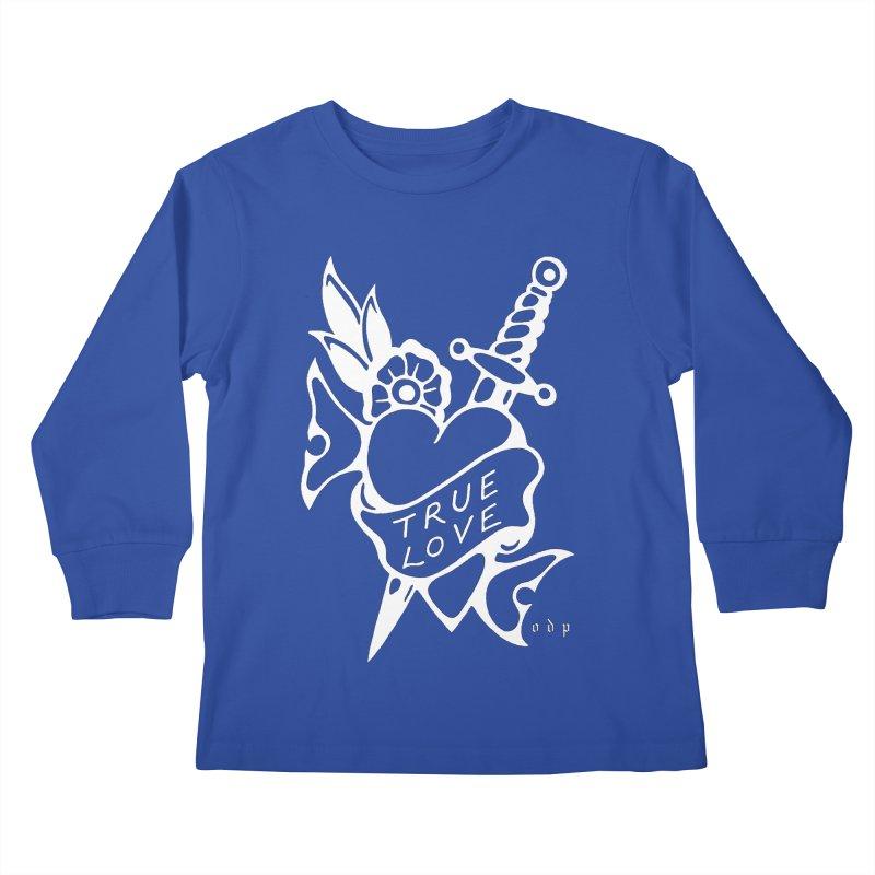 TRUE LOVE Kids Longsleeve T-Shirt by ODP