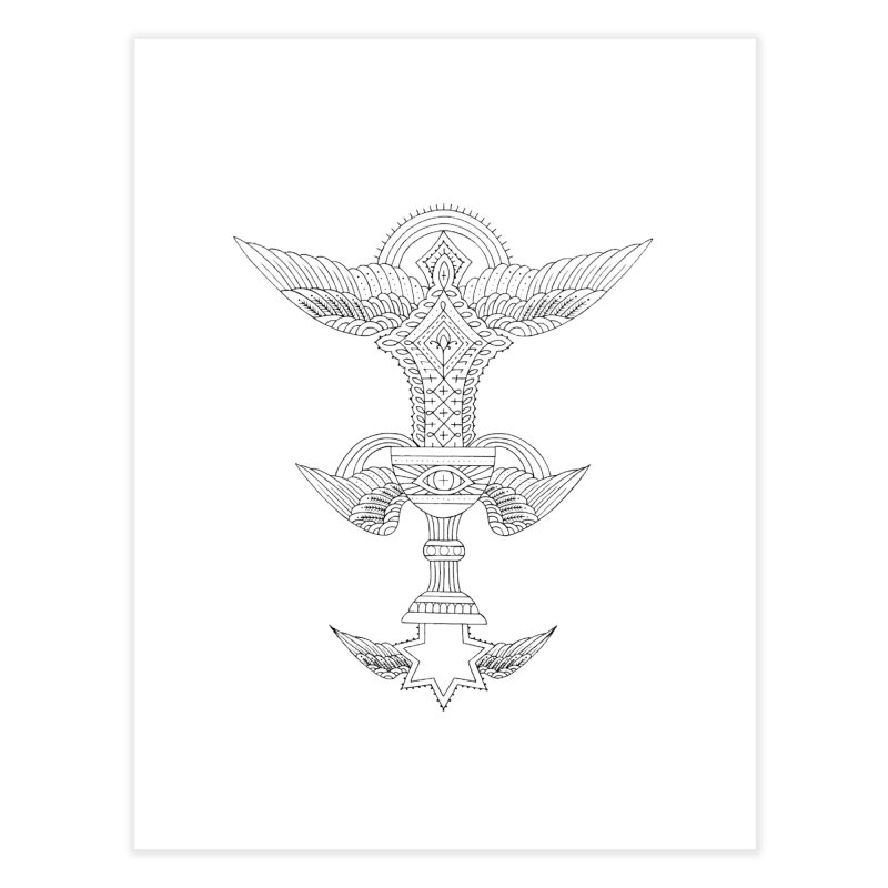 CHALICE Home Fine Art Print by ODP