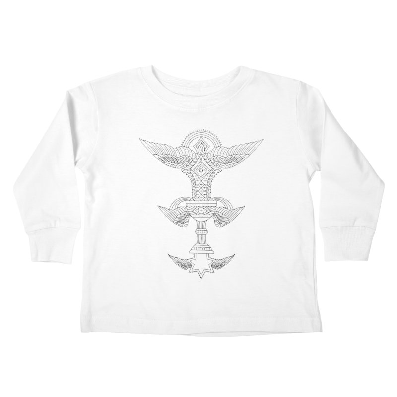 CHALICE Kids Toddler Longsleeve T-Shirt by ODP