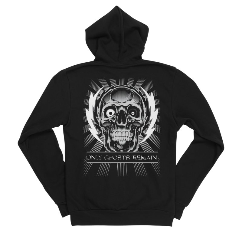 OGR - Skull Men's Zip-Up Hoody by Only Ghosts Remain