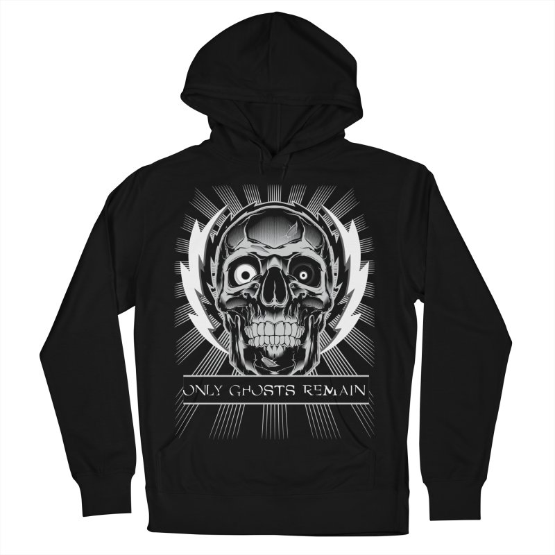 OGR - Skull Women's French Terry Pullover Hoody by Only Ghosts Remain