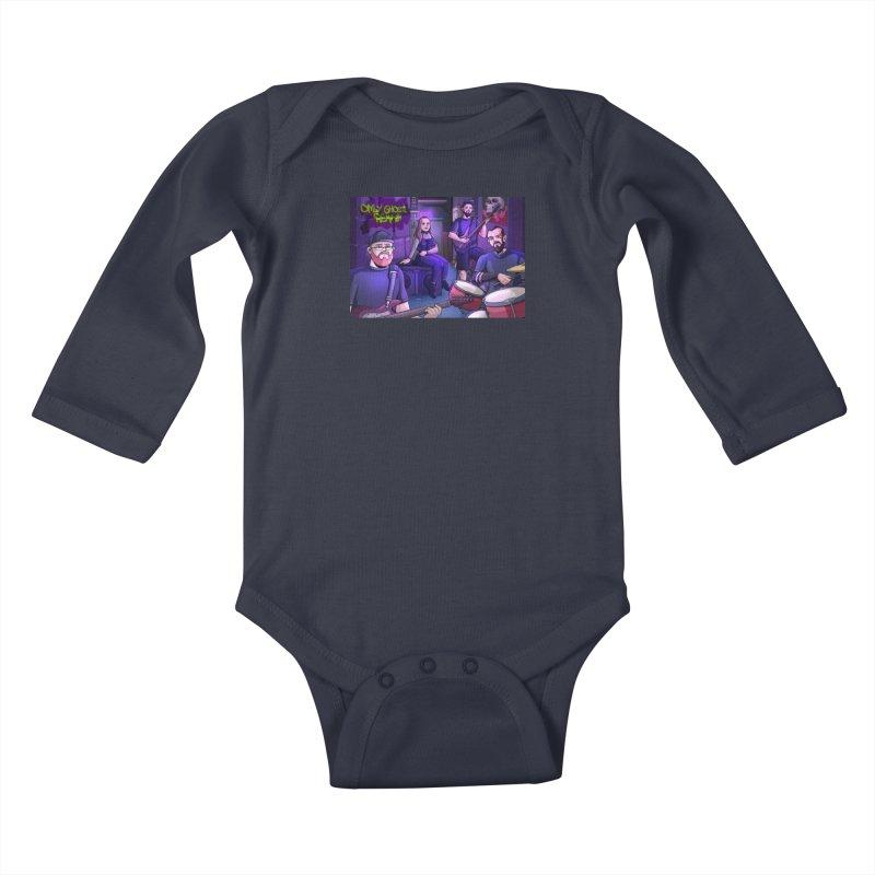 OGR Cartoon Kids Baby Longsleeve Bodysuit by Only Ghosts Remain