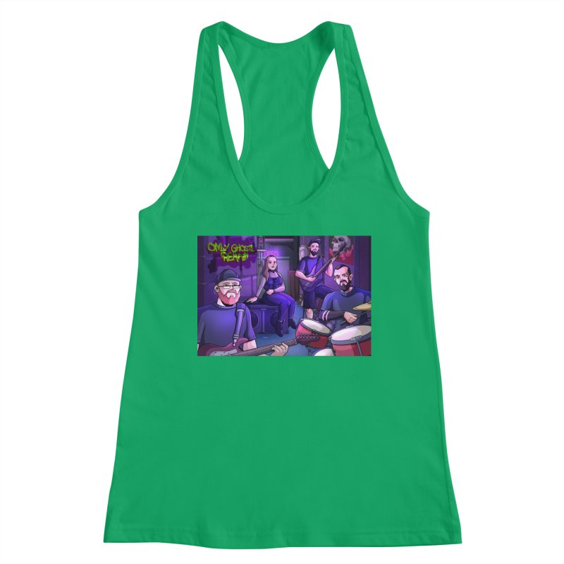 OGR Cartoon Women's Tank by Only Ghosts Remain