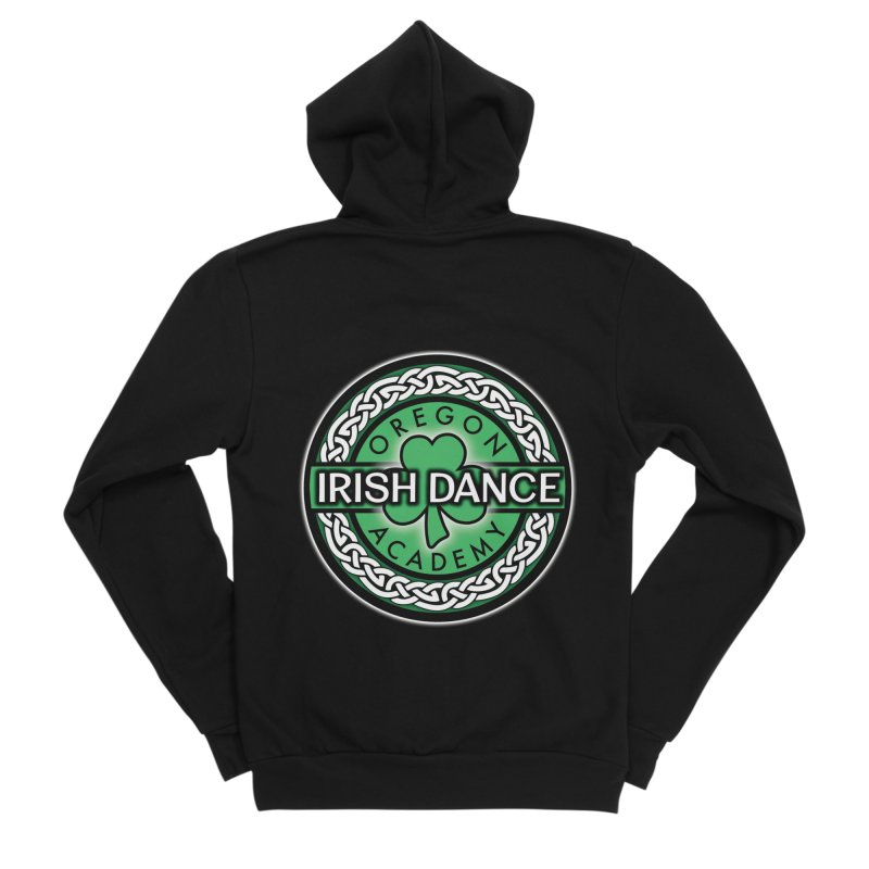 Zip Up Hoodies Men's Sponge Fleece Zip-Up Hoody by Oregon Irish Dance Academy