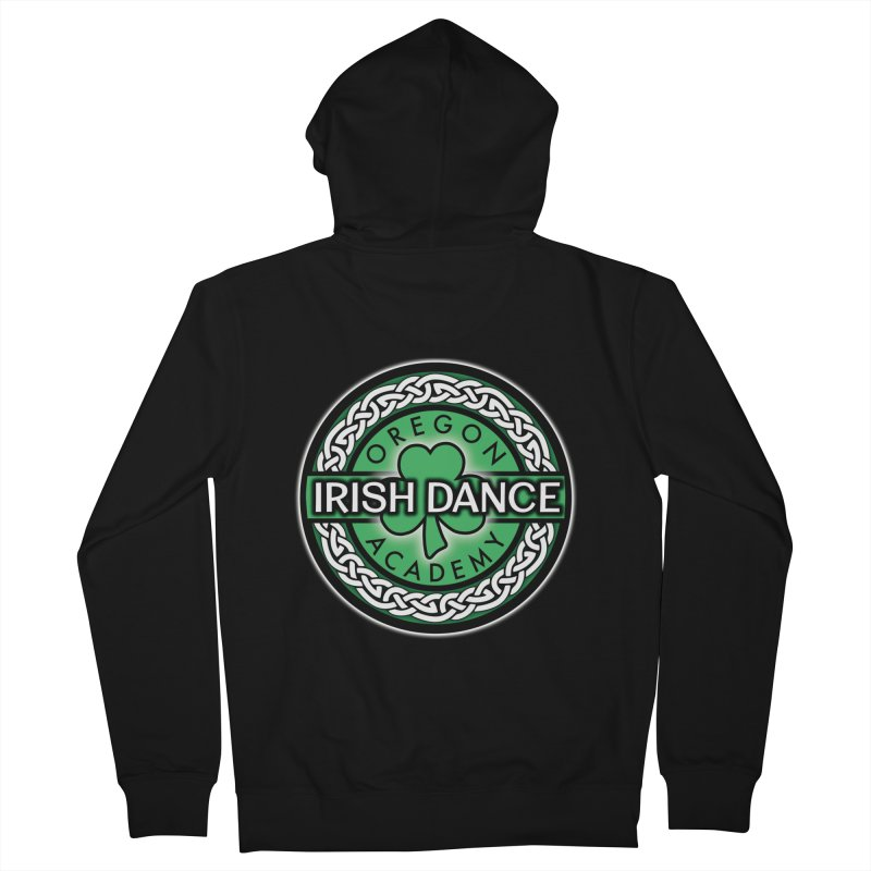 Zip Up Hoodies Men's French Terry Zip-Up Hoody by Oregon Irish Dance Academy