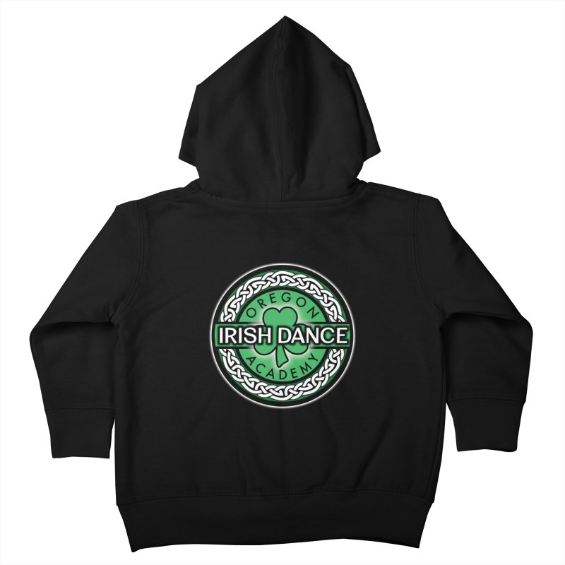 Zip Up Hoodies Kids Toddler Zip-Up Hoody by Oregon Irish Dance Academy
