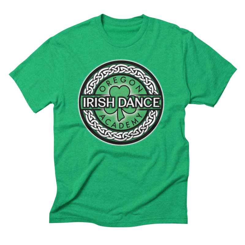 T-Shirts Men's Triblend T-Shirt by Oregon Irish Dance Academy