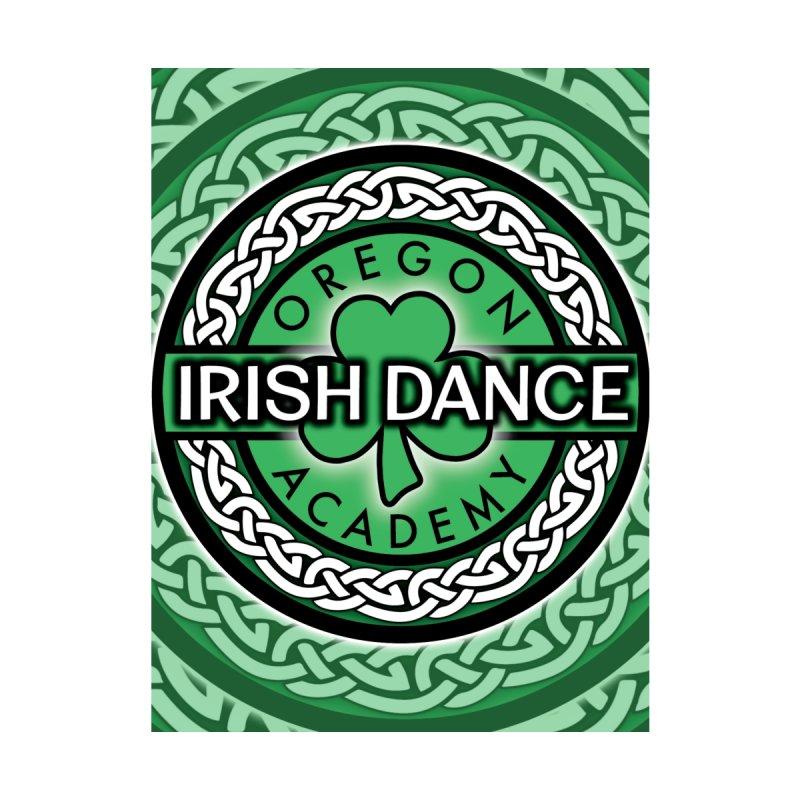 OIDA Logo Rippled Home Blanket by Oregon Irish Dance Academy