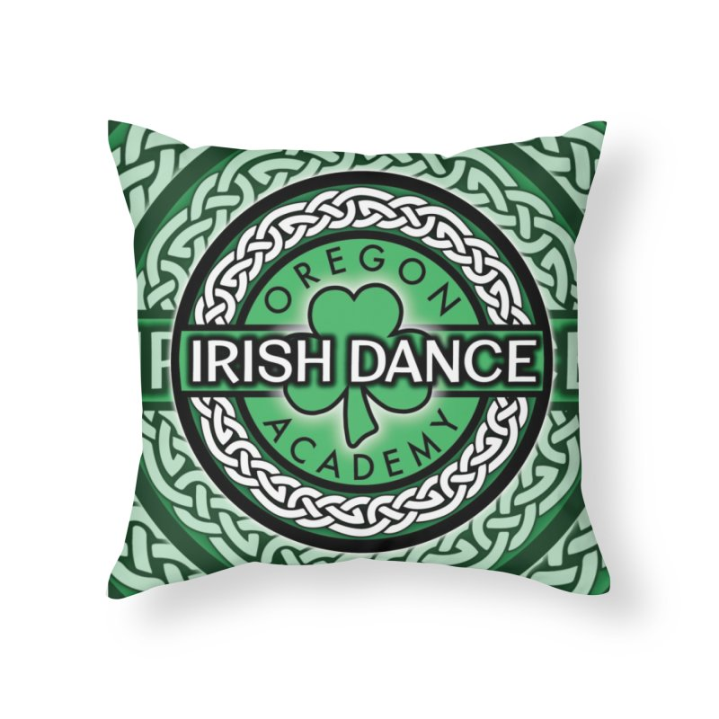 Throw Pillows Home Throw Pillow by Oregon Irish Dance Academy