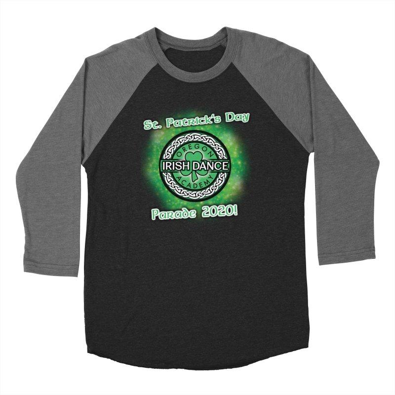 Parade 2020 (Special Release!) Women's Baseball Triblend Longsleeve T-Shirt by Oregon Irish Dance Academy